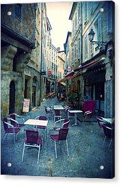 Auch- Rue Dessoles Acrylic Print by Sandrine Pelissier