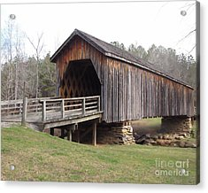 Acrylic Print featuring the photograph Auchumpkee Creek Bridge by Michelle H