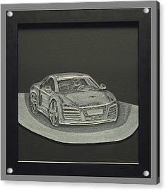 Audi R8 Acrylic Print by Akoko Okeyo
