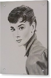 Audrey Acrylic Print by Mike OConnell