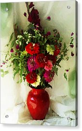 August Bouquet 2008 Acrylic Print