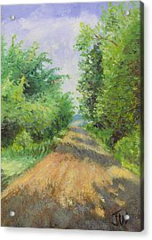 Acrylic Print featuring the painting August Lane by Joe Winkler