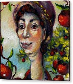 Aunt Berta Acrylic Print