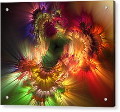 Auras Emotional Reflections Acrylic Print