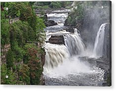 Ausable Chasm 5172 Acrylic Print by Guy Whiteley