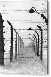 Auschwitz  Acrylic Print by Annemeet Hasidi- van der Leij