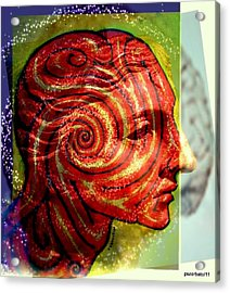 Auspicious Movement Of The Evolution Acrylic Print