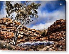 Australia Landscape 5 Acrylic Print by Wendy White