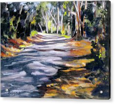 Acrylic Print featuring the painting Australia Revisited 3 by Rae Andrews
