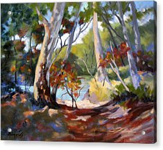 Acrylic Print featuring the painting Australia Revisited by Rae Andrews