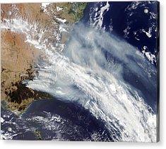 Australian Bush Fire Smoke Acrylic Print by Nasa