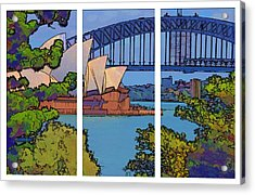Australian Icons 1 Acrylic Print