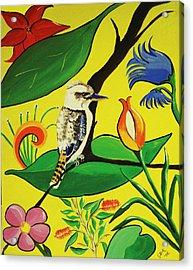 Australian Kookaburra Acrylic Print