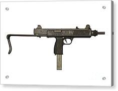 Austrian 9mm Steyr Mpi 81 Submachine Acrylic Print by Andrew Chittock