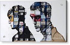 Auto Emotion Acrylic Print by Nick Jentry