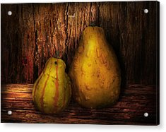 Autumn - Gourd - A Pair Of Squash  Acrylic Print by Mike Savad