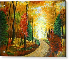 Autumn Afternoon Acrylic Print