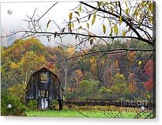 Autumn Along Tioga Road Acrylic Print by Thomas R Fletcher