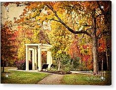 Autumn Arbor Acrylic Print by Cheryl Davis