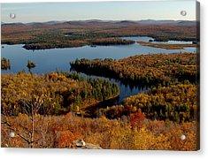 Autumn At Low's Lake Acrylic Print