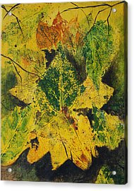 Autumn Boquet Acrylic Print