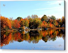 Autumn Bronze Acrylic Print
