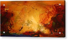 Autumn Canvas Acrylic Print by Carol Cavalaris
