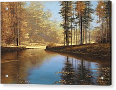 Autumn Creek Acrylic Print