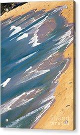 Autumn Day At Palm Beach Sydney Acrylic Print by Avalon Fine Art Photography