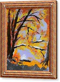Autumn Dreaming  Acrylic Print by Warren Thompson