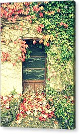 Autumn In France Acrylic Print by Georgia Fowler