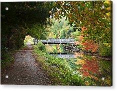 Autumn In New England Acrylic Print