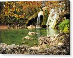 Autumn In Turner Falls Acrylic Print