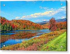 Autumn Invermont Acrylic Print
