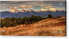 Autumn Mission Acrylic Print by Katie LaSalle-Lowery