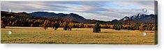 Autumn Panoramic Acrylic Print