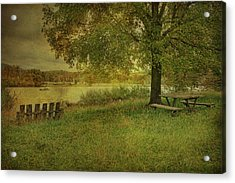Autumn Picnic Acrylic Print