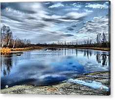 Acrylic Print featuring the photograph Autumn Reflection by Blair Wainman