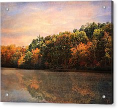 Autumn Reflections 2 Acrylic Print by Jai Johnson