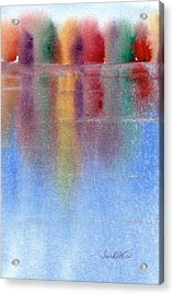 Autumn Reflections No. 1 Acrylic Print