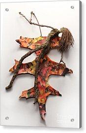 Autumn Release Acrylic Print by Adam Long