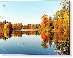 Autumn Splendor Acrylic Print by Crissy Sherman