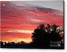 Autumn Sunrise Acrylic Print