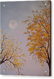 Autumn Twilight  Acrylic Print