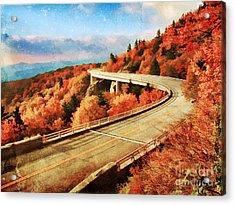 Autumn Views Acrylic Print by Darren Fisher