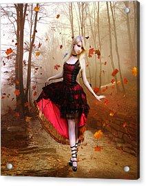 Autumn Waltz Acrylic Print