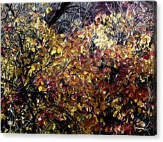 Autumn Window Acrylic Print
