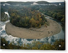 Autumnal View Of One Of The Loops Acrylic Print by Randy Olson