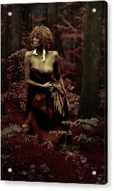 Autumns Child Acrylic Print by Naman Imagery