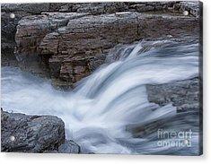 Avalanche Creek - Glacier National Park Acrylic Print by Sandra Bronstein